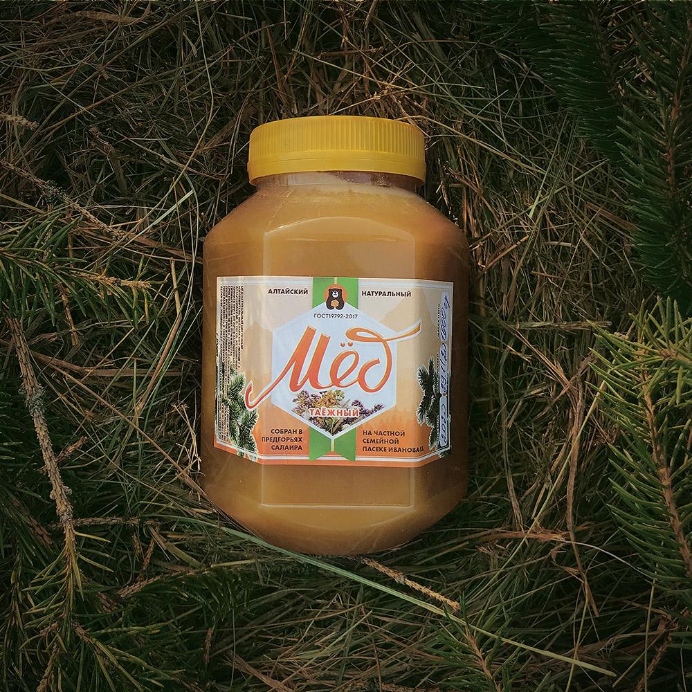 Мёд таежное разнотравье 1